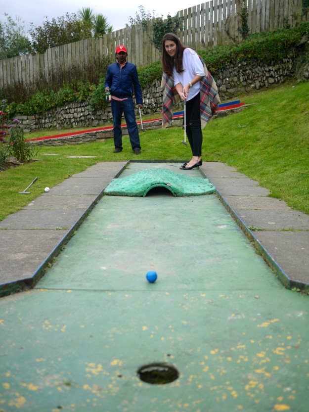 Polzeath Crazy Golf Stroke