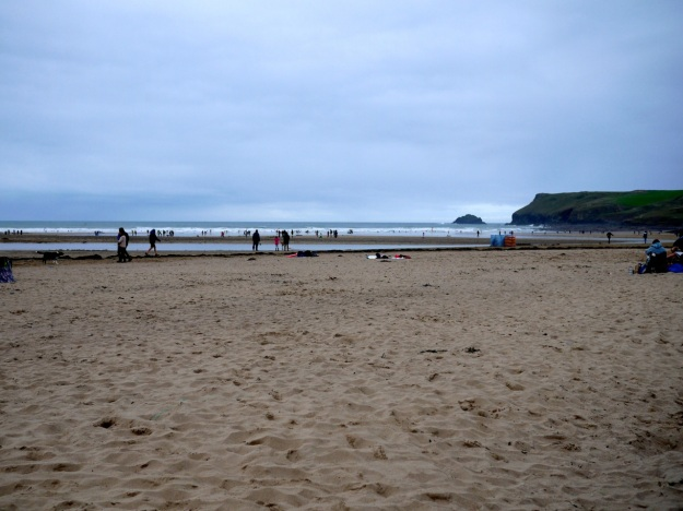 Polzeath Surfside Beach View