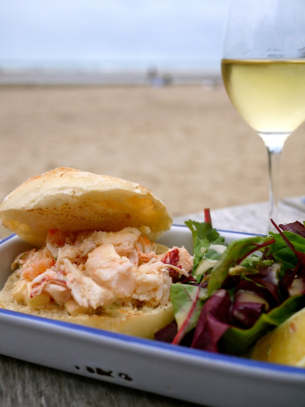 Polzeath Surfside Lobster Roll