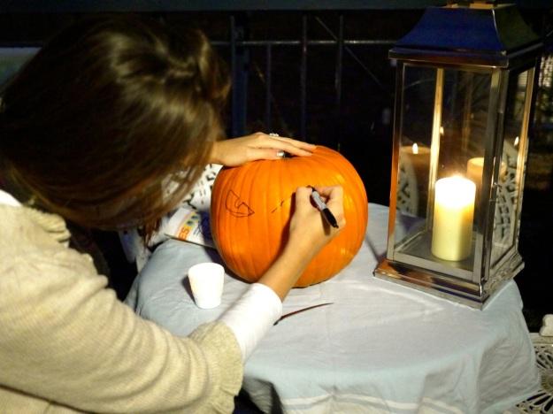 Pumpkin Draw Eyes