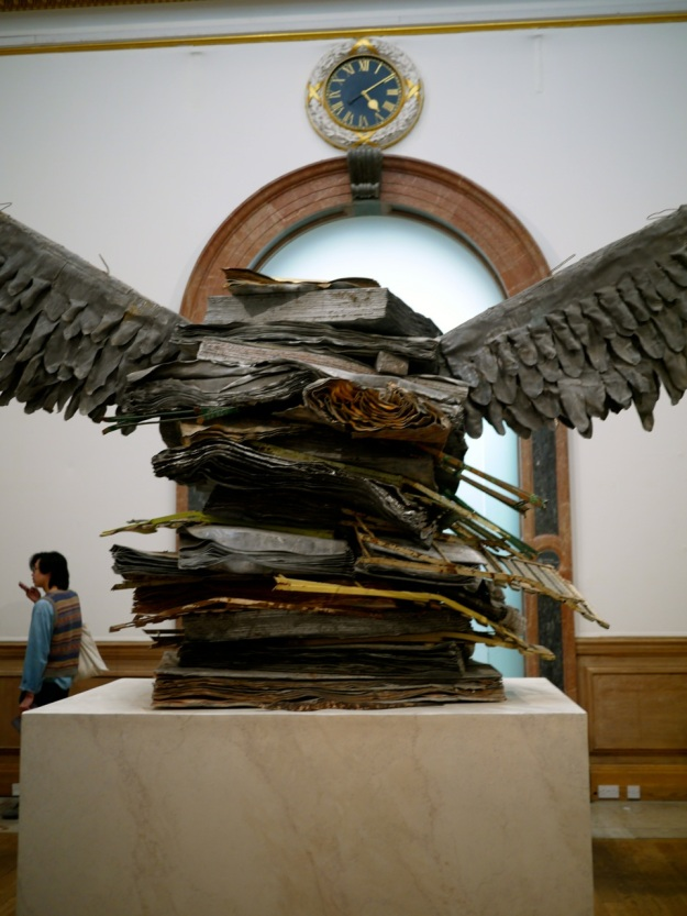 RA Anselm Keifer Wings