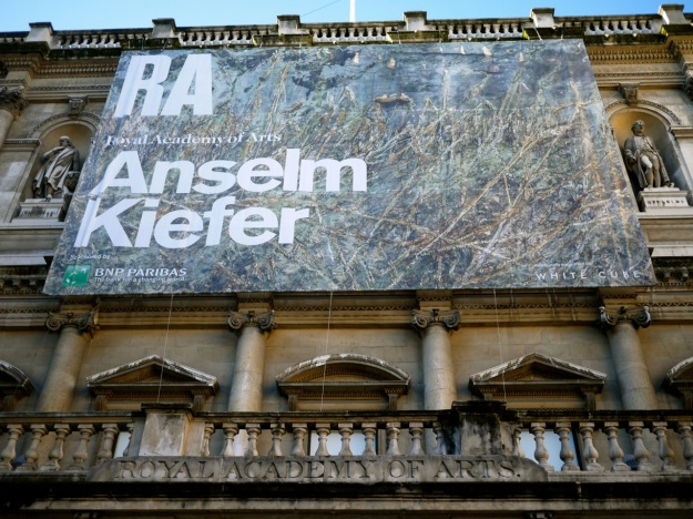 RA Anselm Kiefer Sign