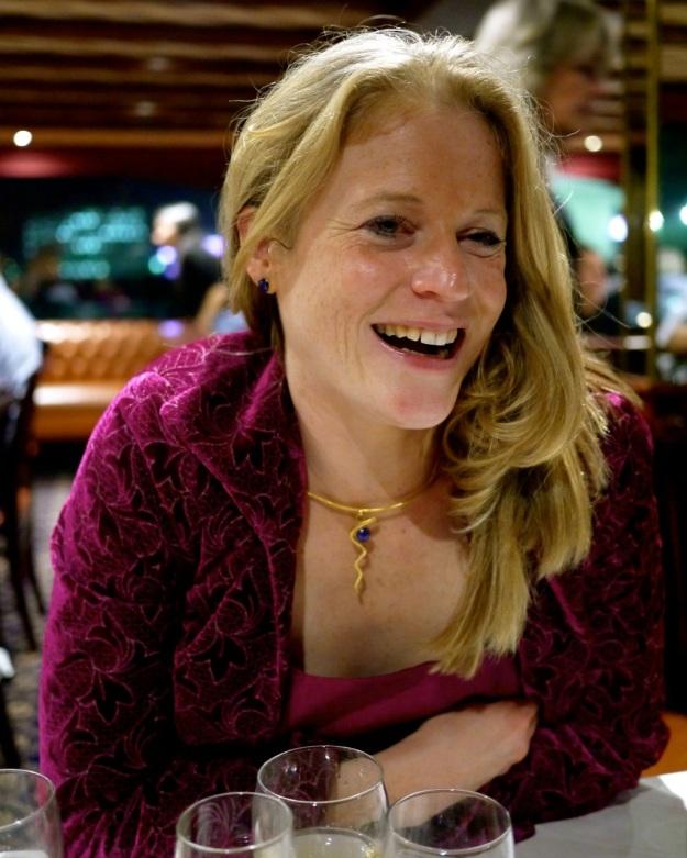 Boat Dinner Smile