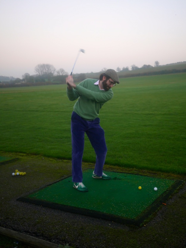 Cotswold Golf Course Driving Range Swoing