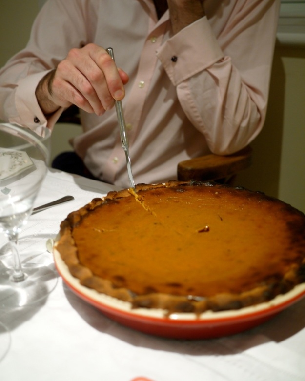 Thanksgiving Menu Pumpkin Pie