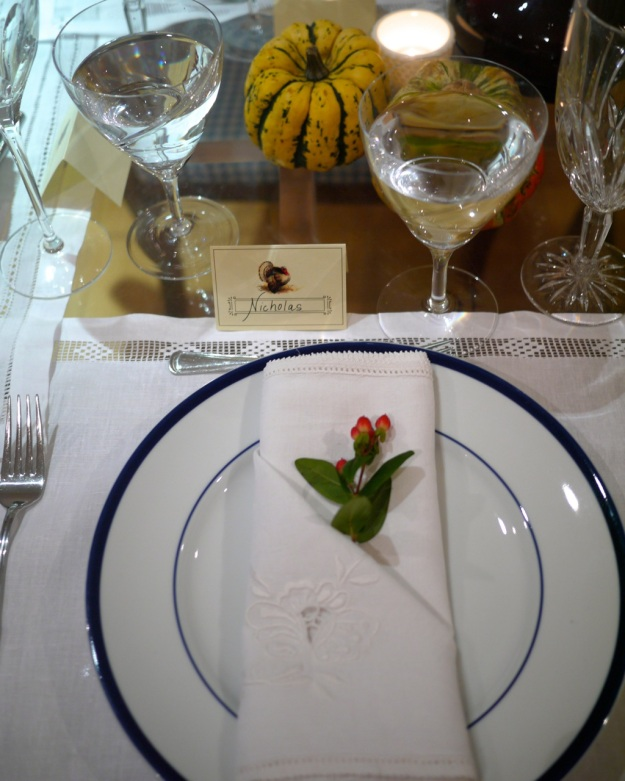Thanksgiving Table Place Cards