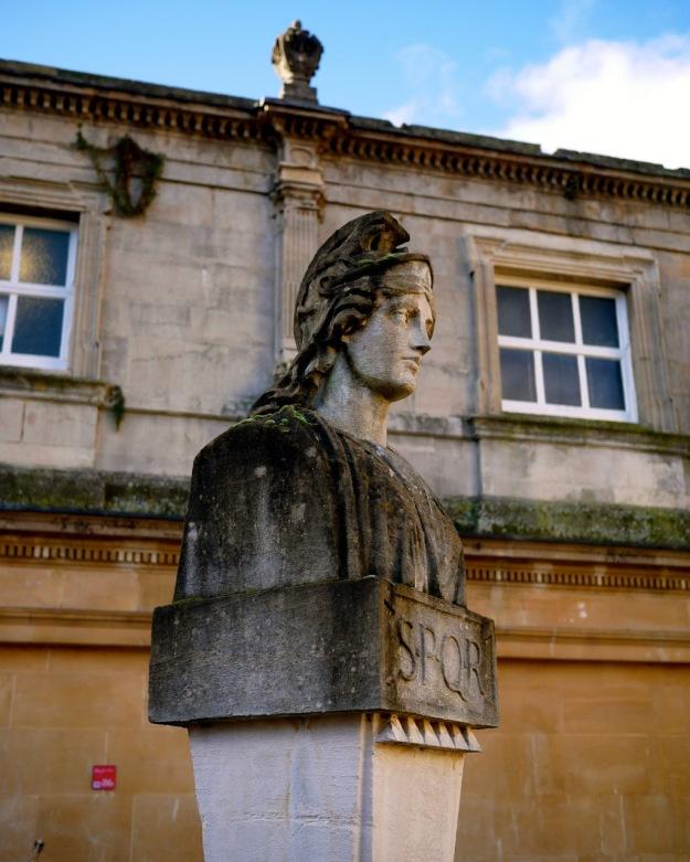 Bath Roman Bust