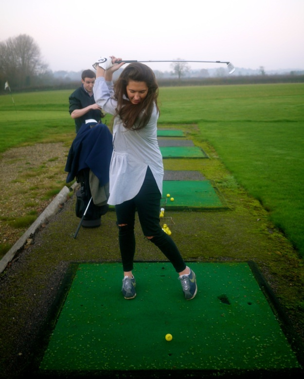 Cotswold Driving Range Swing