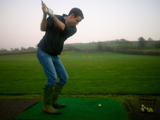 Cotswold Driving Range Wellies Swing