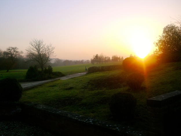 Cotswold Golf Course Sunset
