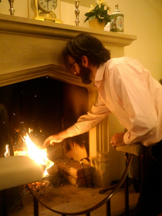 Cotswold Man and his Fire