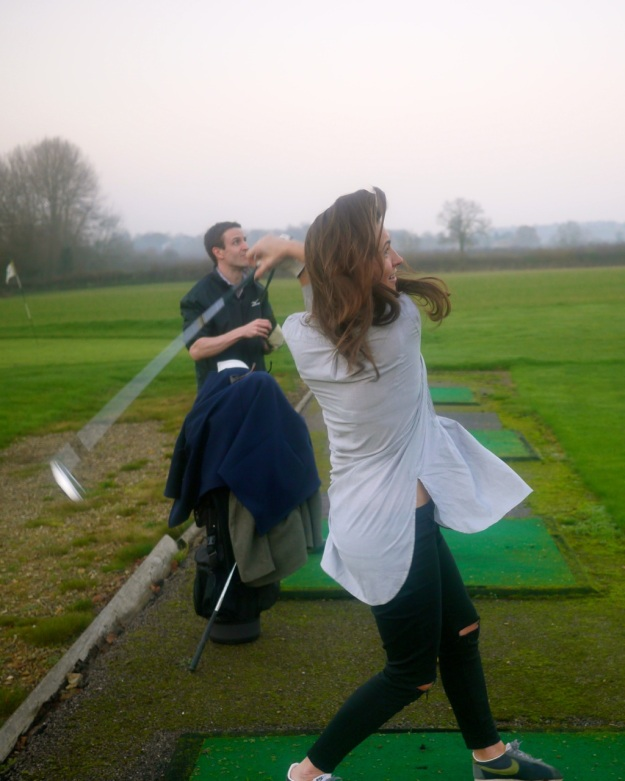 Cotswolds Golf Swing