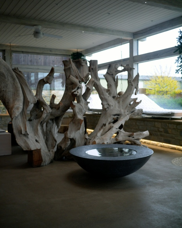Daylesford Bamford Spa Fountain Driftwood