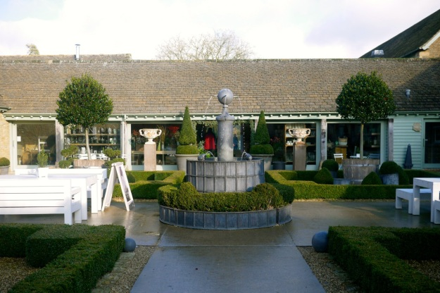 Daylesford Bamford Spa Fountain