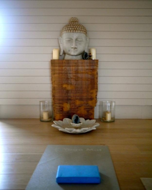 Daylesford Bamford Spa Yoga Mat Buddha