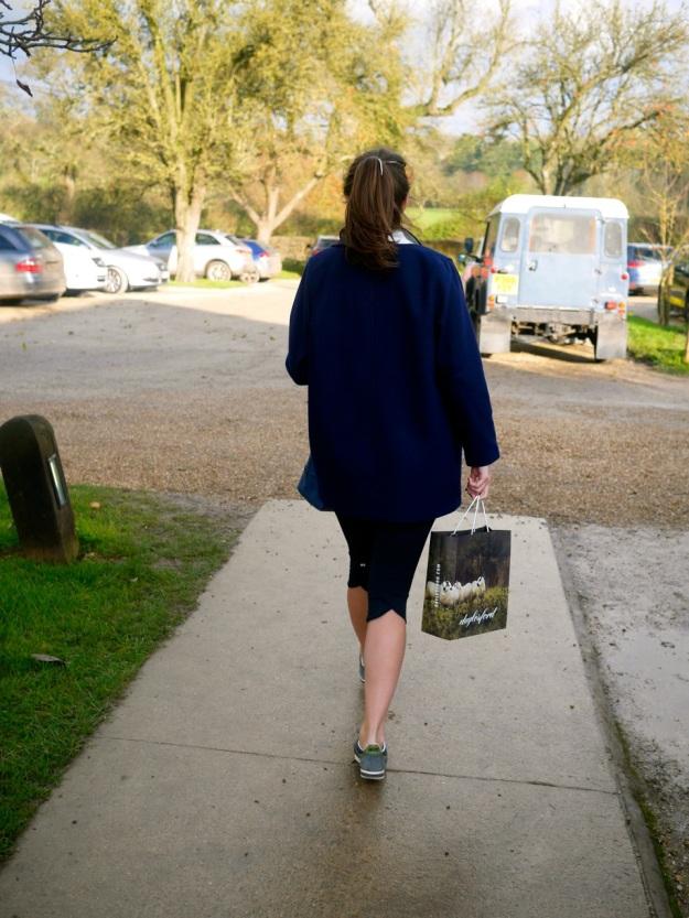 Daylesford Shopping Bag Walking Car Park