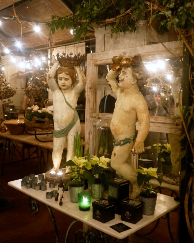 Petersham Nurseries Shop Putti