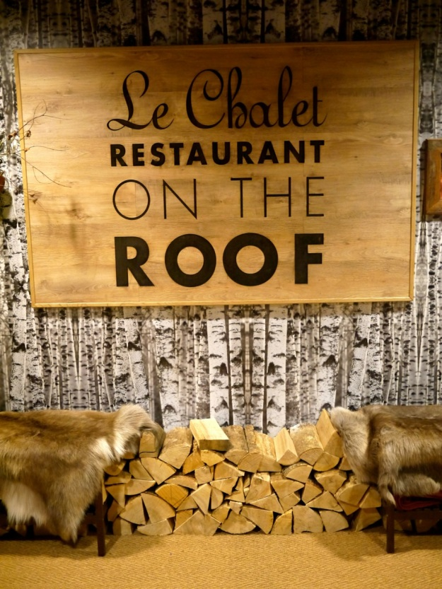 Selfridges Le Chalet Entrance