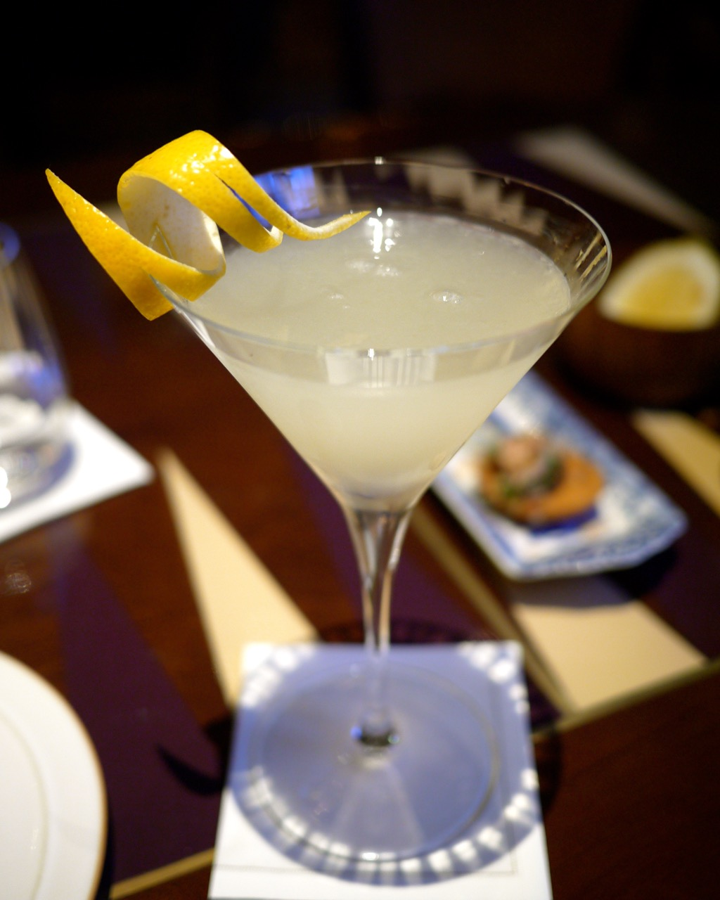 how to create a lychee martini