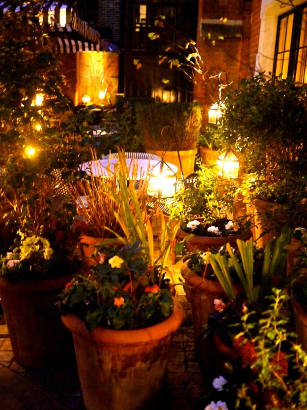 Chiltern Firehouse Outdoor Front Garden Patio Pots