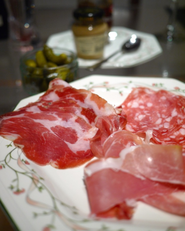 Raclette Cured Meats