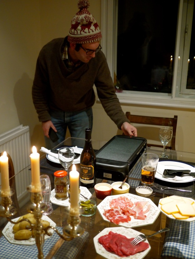 Raclette Machine Turning it on