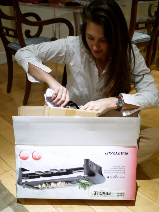 Raclette Opening Box