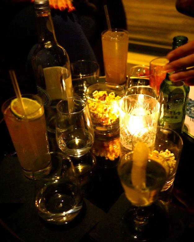 Rumpus Room Drinks Table