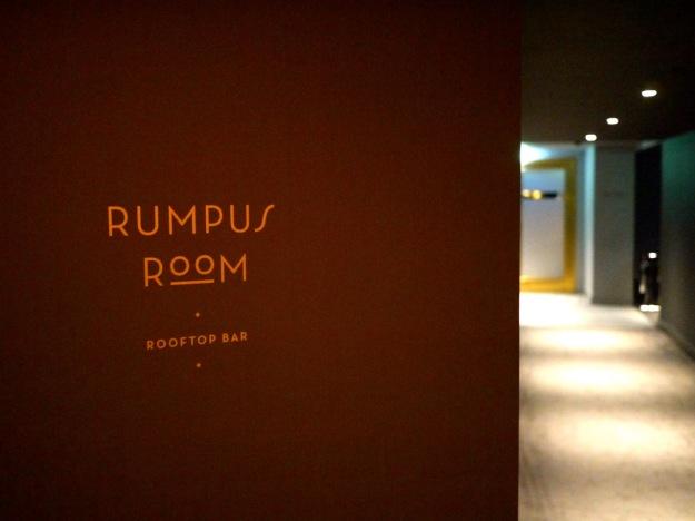 Rumpus Room Signage