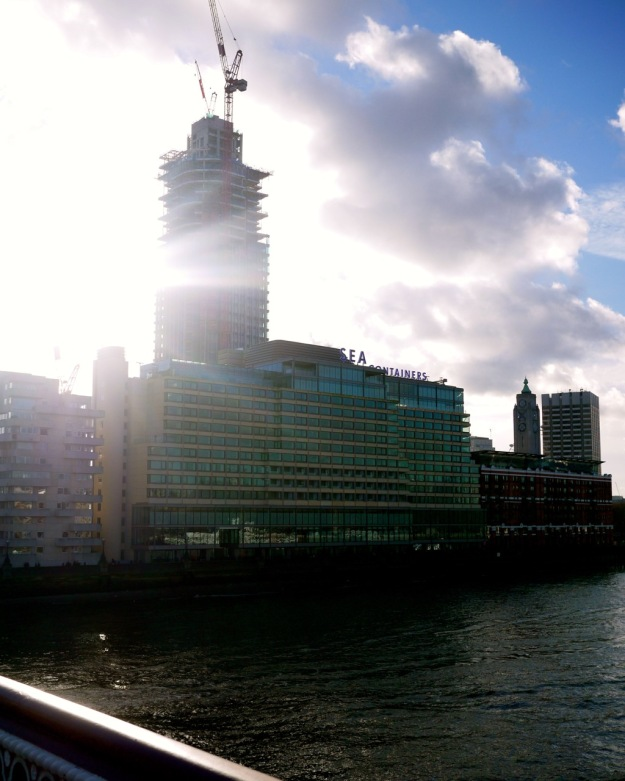 Sea Containers From Blackfriars Bridge