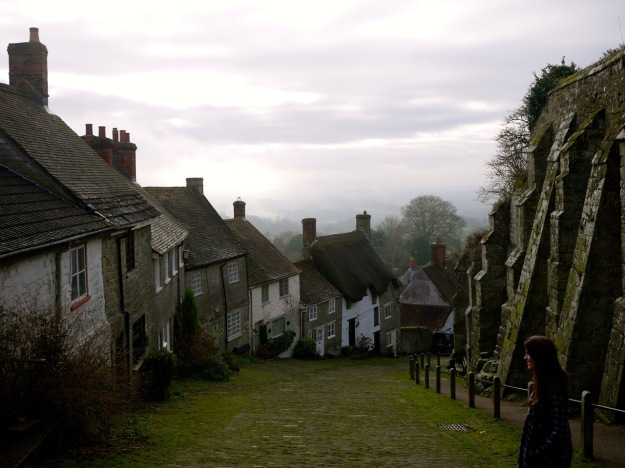 Shaftesbury Gold Hill View Down