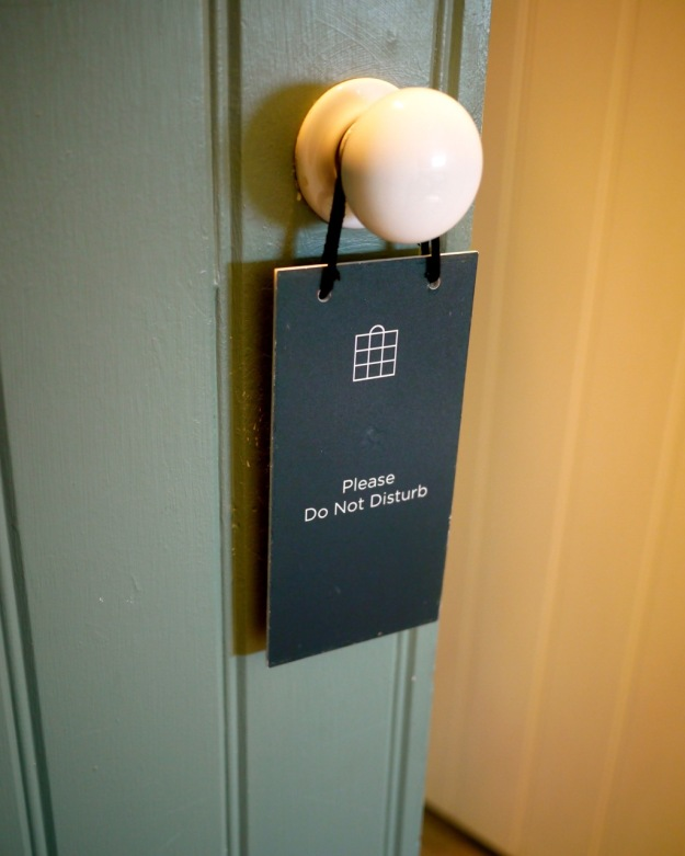 Babington House Do Not Disturb Door Soho House