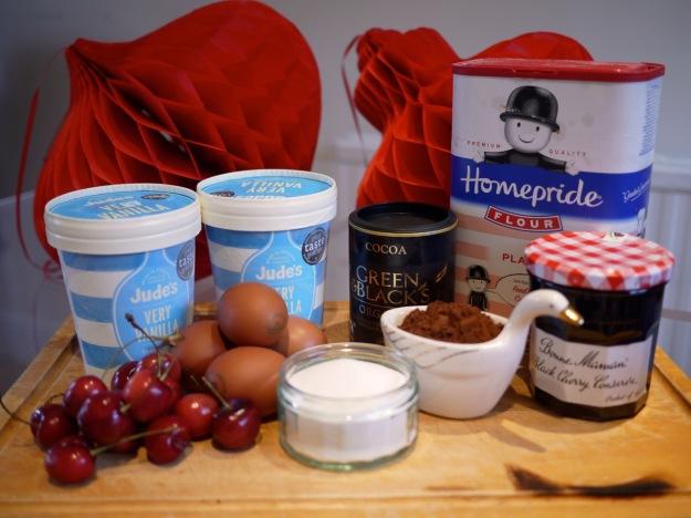 Cherry Artic Roll Ingredients