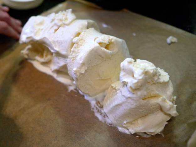 Cherry Chocolate Artic Roll Recipe Step 3 Ice Cream