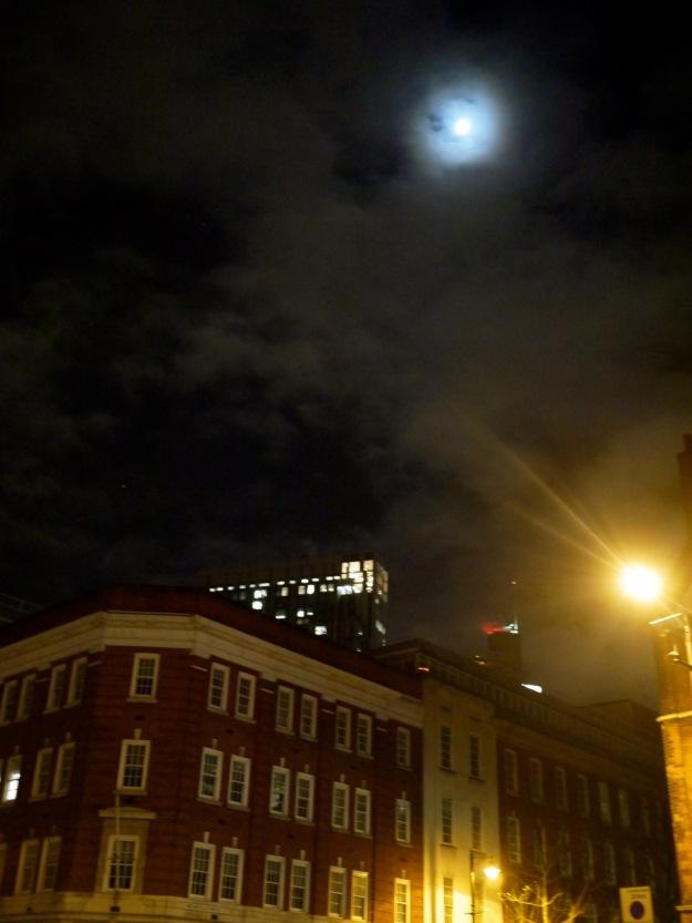 Spitalfields Moon