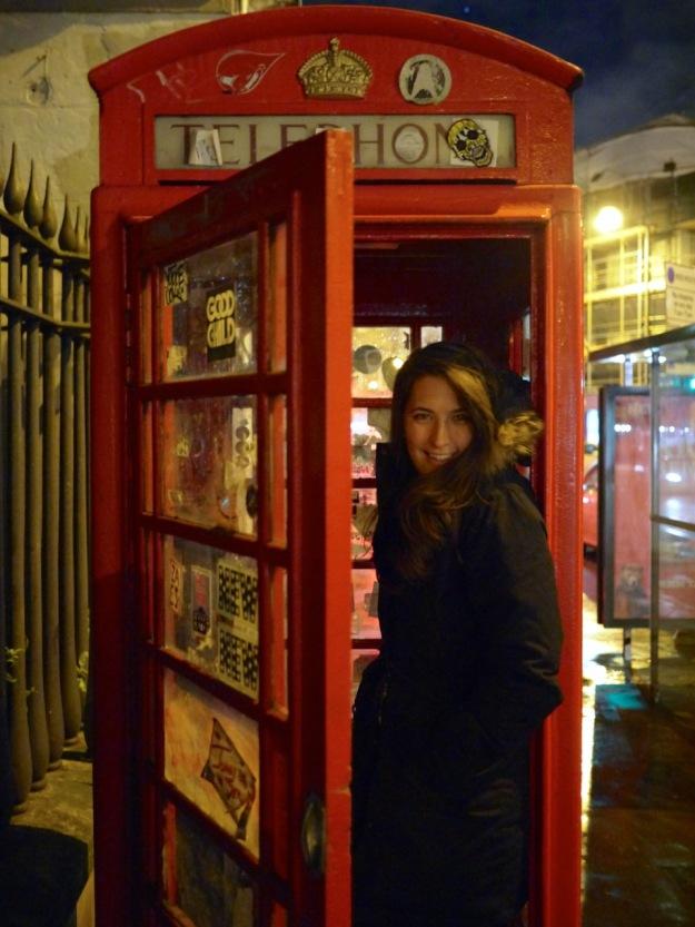 Ten Bells Telephone Booth