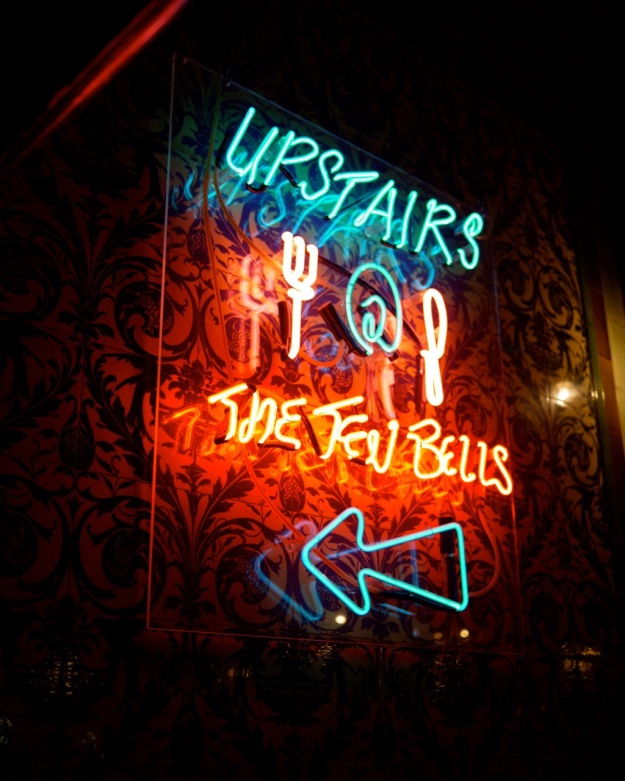 Upstairs at 10 Bells Neon
