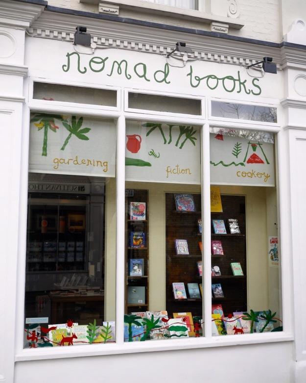 Fulham Road Nomad Books Window