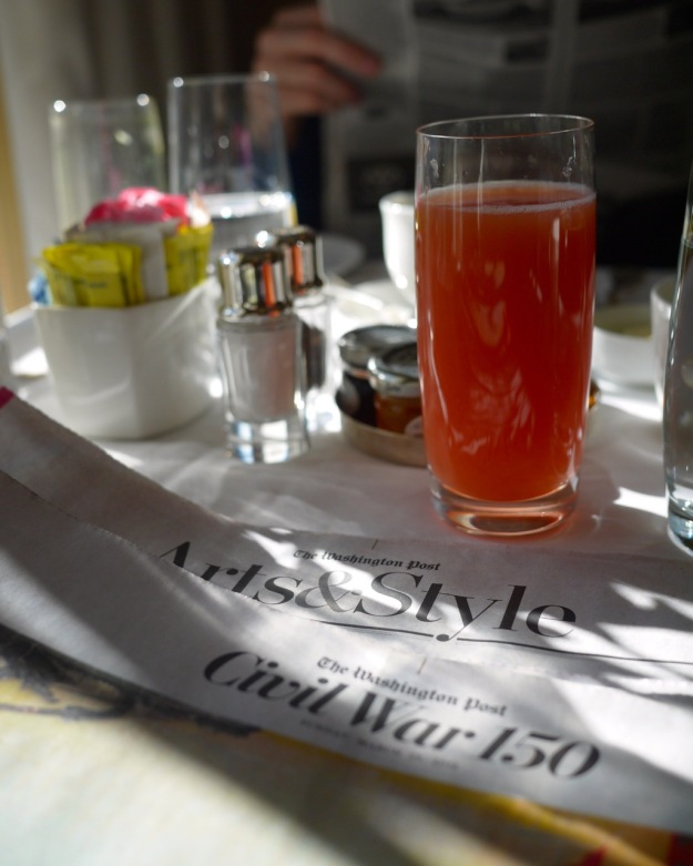 Hay Adams Breakfast Washington Post Lafayette