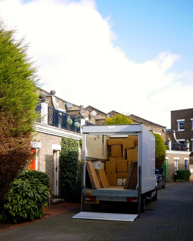 Moving Day Mustow Place