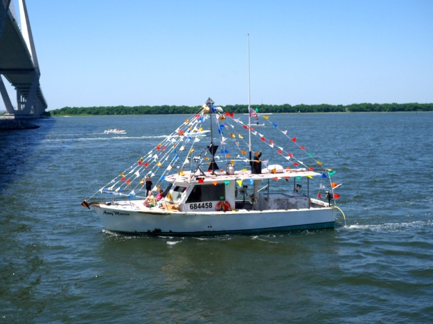 Blessing of the Fleet Shrimp Boat Amy Marie