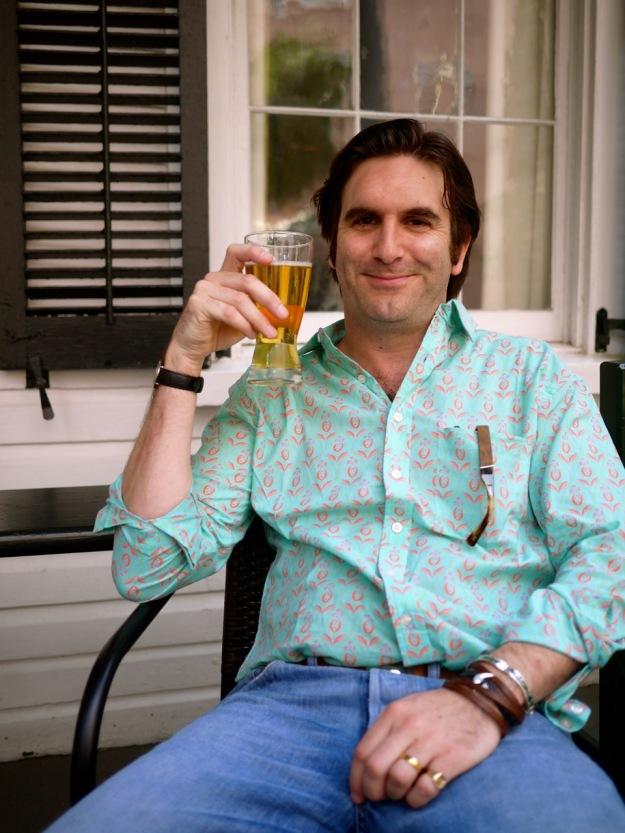 Charleston Husk Beer Porch