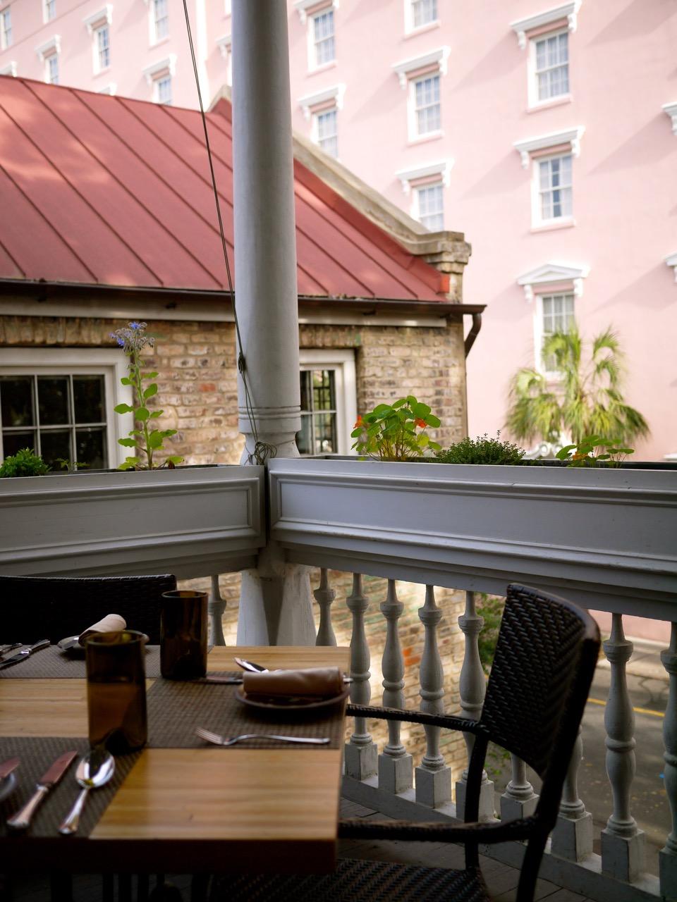 Husk charleston godsavethescene for Balcony upstairs