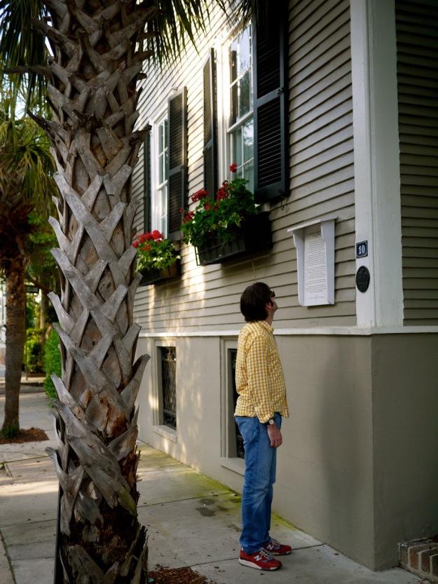 Charleston King Street Palm Tree Building Plaque