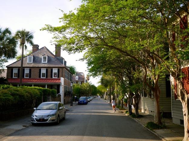 Charleston King Street Runner Leafy Spring