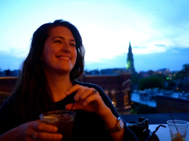 Charleston Vendue Rooftop Bar Drink