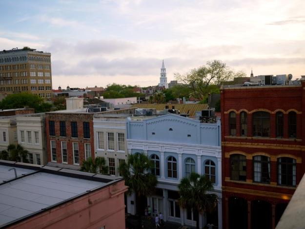 Charleston Vendue Rooftop View