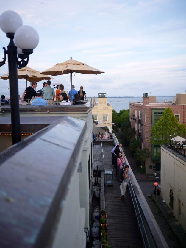 Charleston Vendue Rooftop Water View
