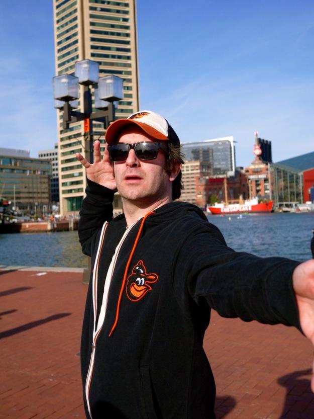 Inner Harbor Orioles Fan Hat Sweatshirt