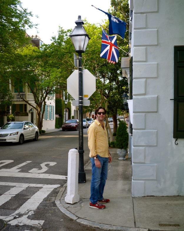 King Street Walking Tour English Flag